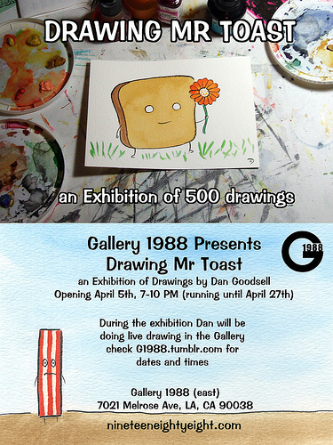 Gallery: Drawing Mr Toast 4/5