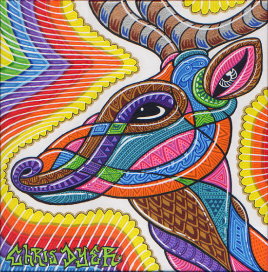 chris dyer color ink book dear